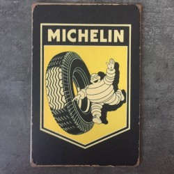 PLAQUE METAL MICHELIN 09