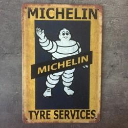 PLAQUE METAL MICHELIN 10