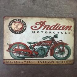 PLAQUE METAL INDIAN