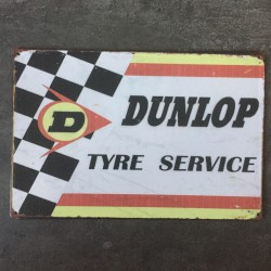 PLAQUE METAL DUNLOP