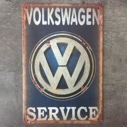 PLAQUE METAL VW 36