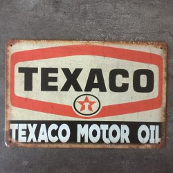 PLAQUE METAL TEXACO
