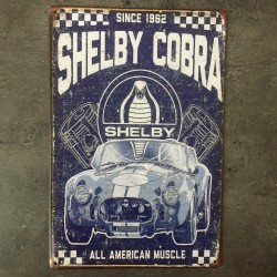 PLAQUE METAL SHELBY 46