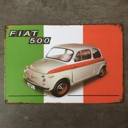 PLAQUE METAL FIAT 48