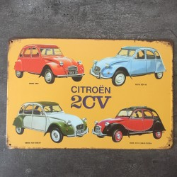 PLAQUE METAL 2CV 51