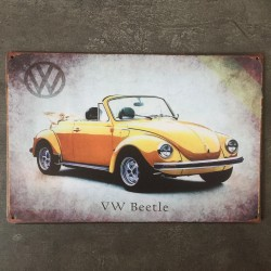 PLAQUE METAL VW 54