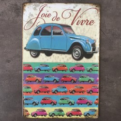 PLAQUE METAL 2CV 67