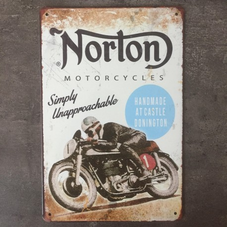 PLAQUE METAL NORTON 82