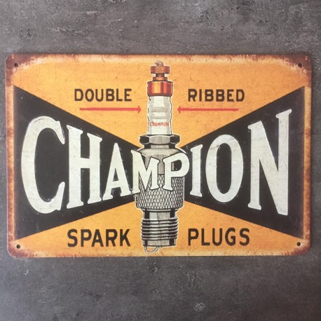 PLAQUE METAL Champion 94