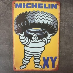 PLAQUE METAL michelin 97
