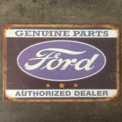 PLAQUE METAL FORD 102