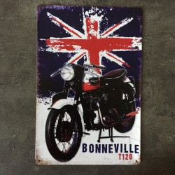 PLAQUE METAL Bonneville
