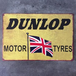 PLAQUE METAL dunlop 135