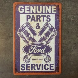 PLAQUE METAL ford 149