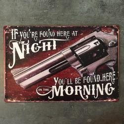 PLAQUE METAL guns 152