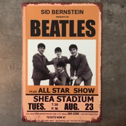 PLAQUE METAL beatles 156