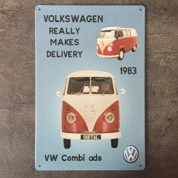 PLAQUE METAL VW 160