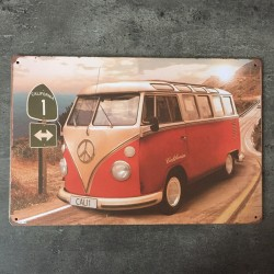 PLAQUE METAL VW 161