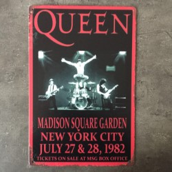 PLAQUE METAL queen 174