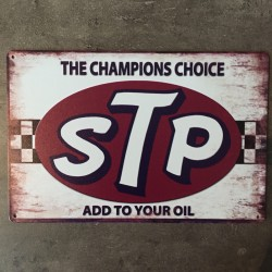 PLAQUE METAL stp 178