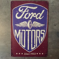 PLAQUE METAL ford 180