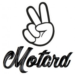 STICKER MOTARD