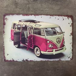 PLAQUE METAL vw