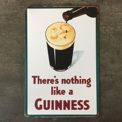 PLAQUE METAL guinness